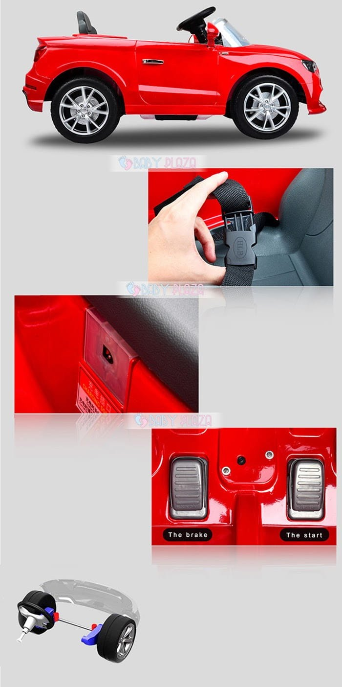 Ô tô điện dành cho trẻ em Audi A3 4