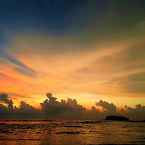 Magic sunset by Svetlana Saenkova - Instagram & Mobile Android ( sky, sunset,  )