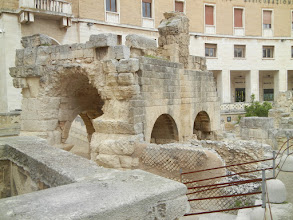 Photo: More ruins, Roman Theater, Lecce