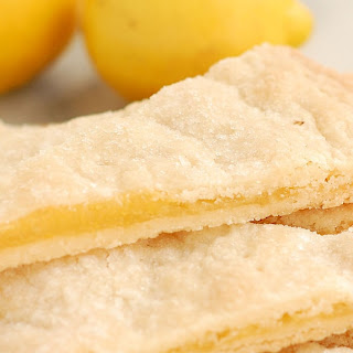 Shortbread Filled with Lemon Curd Recipe