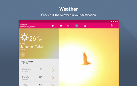 MyFirstChoice –The holiday app screenshot 9