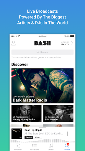 Dash Radio screenshot 2
