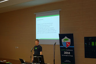 Photo: post build packaging checks in openSUSE, Ludwig Nussel