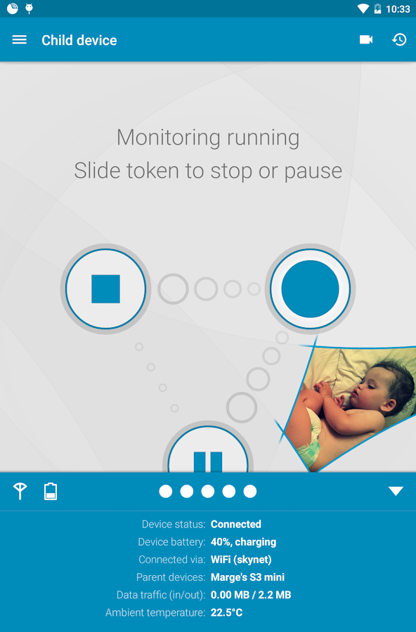 Dormi - Baby Monitor- screenshot