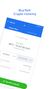 Zebpay Bitcoin and Cryptocurrency Exchange Screenshot