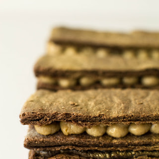 Golden Chocolate Mille Feuille.