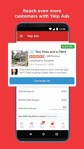 Yelp for Business Owners screenshots 8