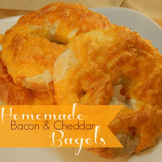 Bacon Cheddar Bagels
