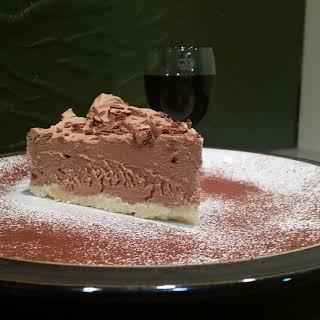 Gluten Free Chocolate Cheesecake.