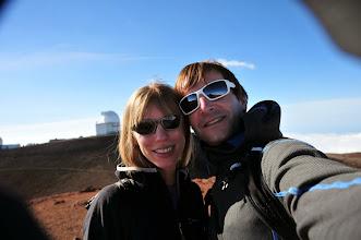 Photo: Us on Mauna Kea.