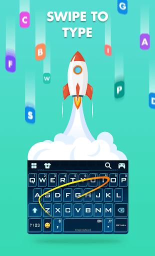 Smiley Emoji Keyboard 2018 - Cute Emoticons 1.2.0 Screenshots 4