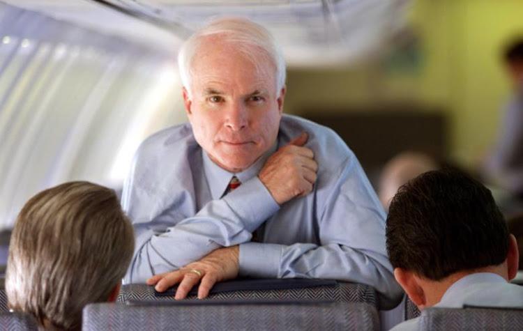 John McCain. REUTERS/Kevin Lamarque