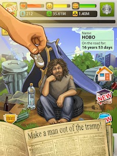 Hobo World – life simulator Apk Download For Android and Iphone 7