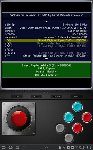 MAME4droid  (0.139u1) 1.13 screenshots 2
