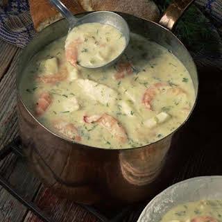 Crab & Shrimp Seafood Bisque.