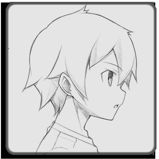 440 Gambar Anime Keren Yang Mudah Digambar Gratis Terbaik
