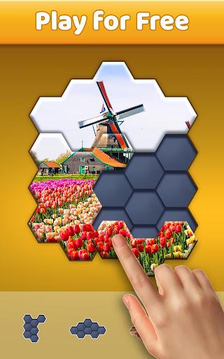 Hexa Jigsaw Puzzleu2122  screenshots 3