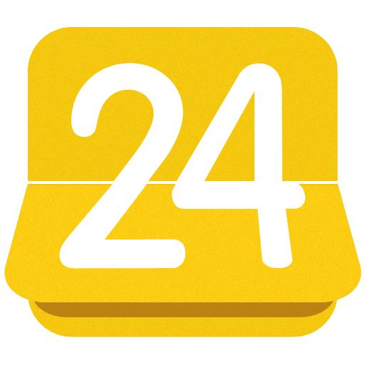 24me: 할 일, 작업 목록 및 노트 生產應用 LOGO-玩APPs