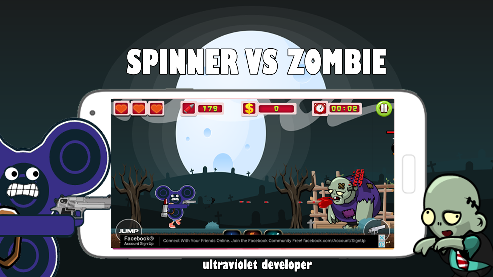 Spinner VS Zombie - Android Apps on Google Play