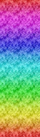 Hoffman Backsplash Rainbow (16226)