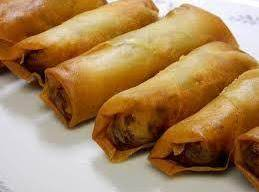Ground Turkey Chinese Spring Rolls Recipe