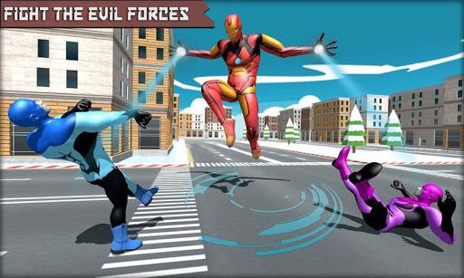 Iron Superhero War - Superhero Games screenshots 1