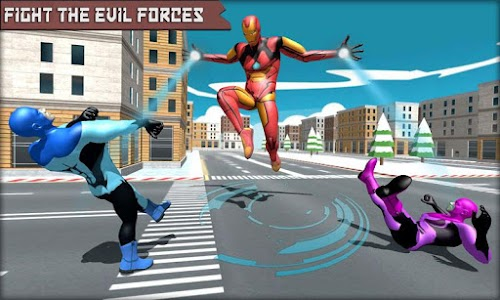 Iron Superhero War - Superhero Games 1.9