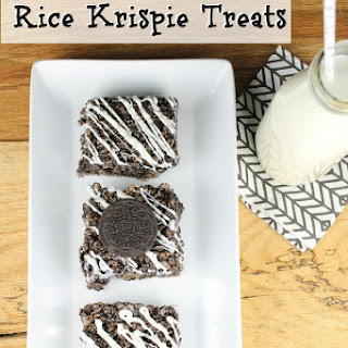 OREO Truffle Rice Krispie Treats.