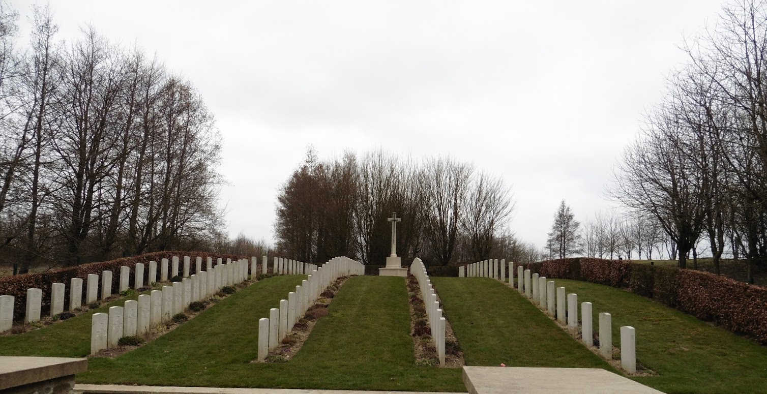 Hibers Trench Cemetery in Wancourt