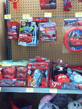 Photo: I have to be sure to come back and pick up some of these Cars2 Easter products for my son.  He is obsessed right now!