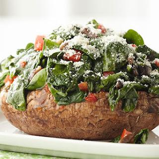 Spinach-Stuffed Portobello Mushrooms