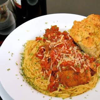 Slow Cooker Balsamic Chicken Pasta.