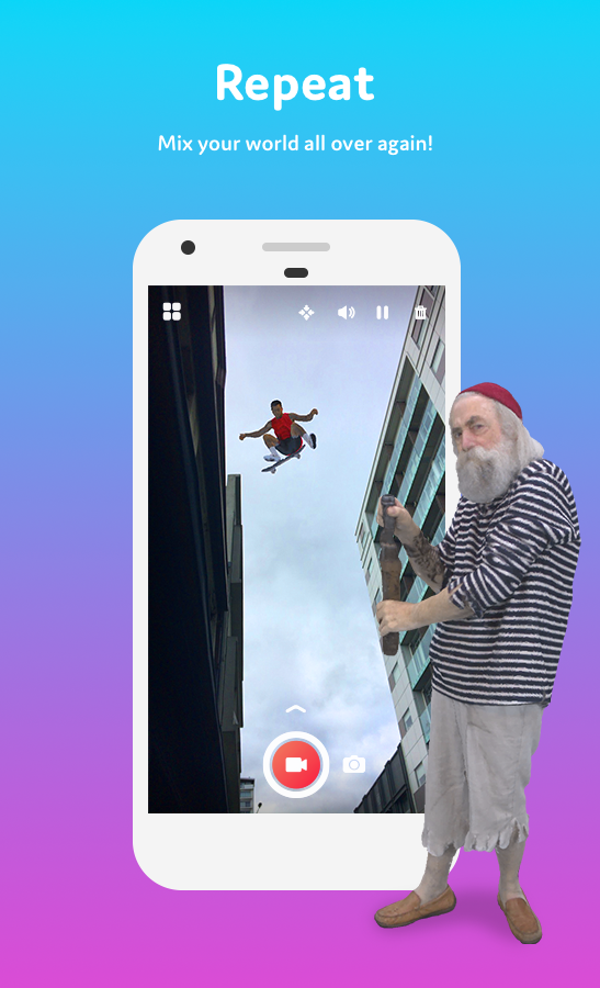 Holo – Holograms for Videos in Augmented Reality: captura de pantalla
