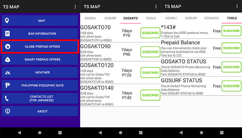 TS MAP App