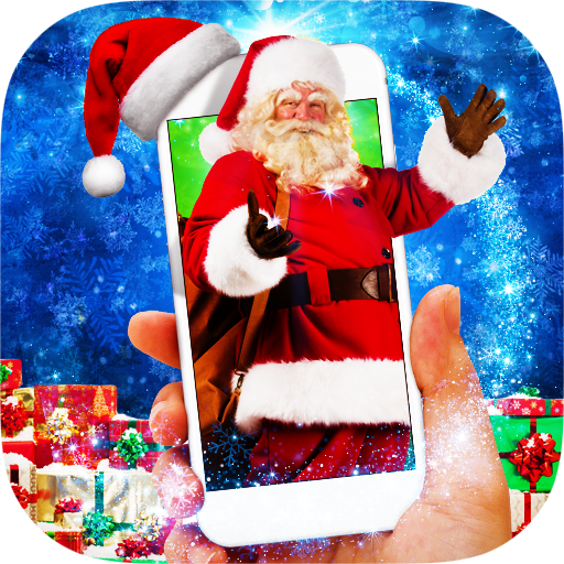Santa in Phone Prank - Dancing Santa Icon
