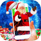 Santa in Phone Prank - Dancing Santa