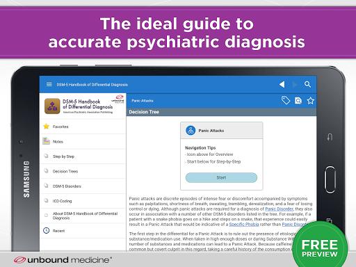 DSM-5 Differential Diagnosis 2.7.80 screenshots 6