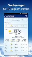 Screenshot of wetter.info