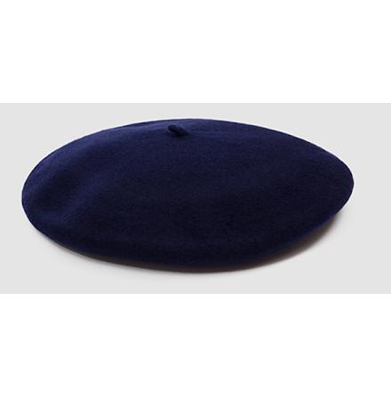 Klassisk basker, mörkblå