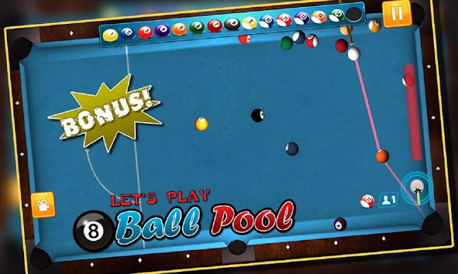 Real Billiard 8 Ball Billiard Pool: Snooker Game - screenshot