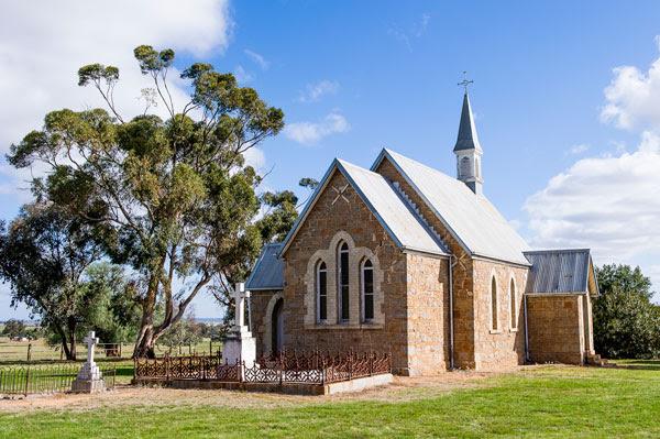 Iandra chapel