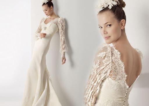 デザインのウェディングドレス