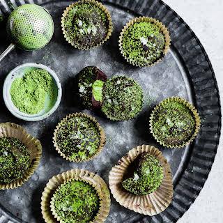 Chocolate Mint Matcha Cups.