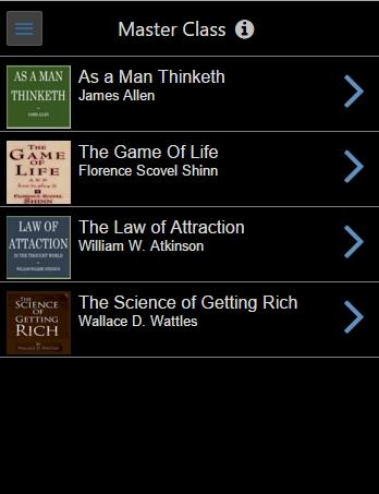 Audiobooks Law of Attraction, Napoleon Hill & More- screenshot