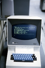 Photo: IBM 2260 Display Terminal at the Computing Center, University of Michigan, Ann Arbor, Michigan, USA