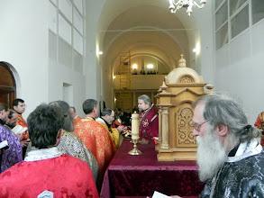 Photo: Причастя священиків
