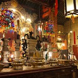 breathtaking Man Mo Temple in the heart of Hong Kong in Hong Kong, , Hong Kong SAR