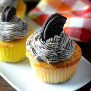Oreo Frosted Cupcake