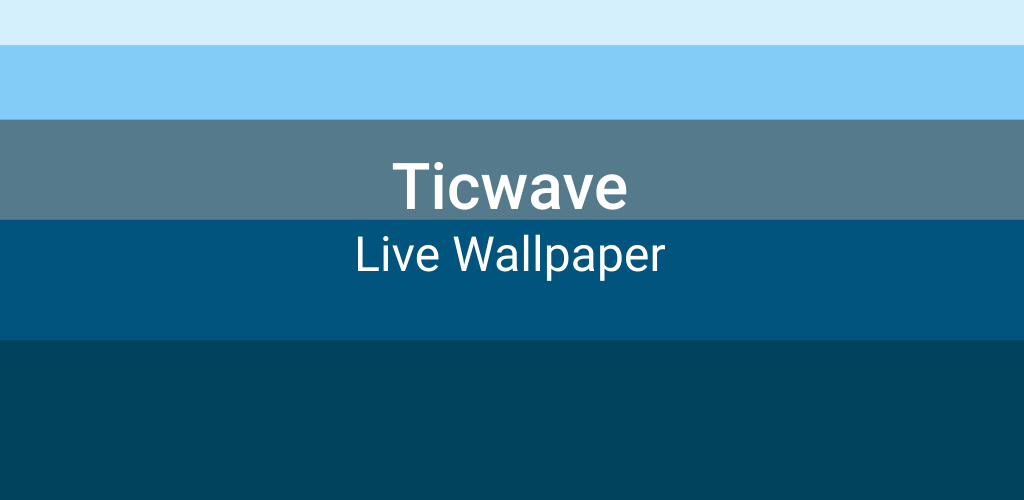 Ticwave PRO: Live Wallpaper and Music Visualizer 0 Apk Download