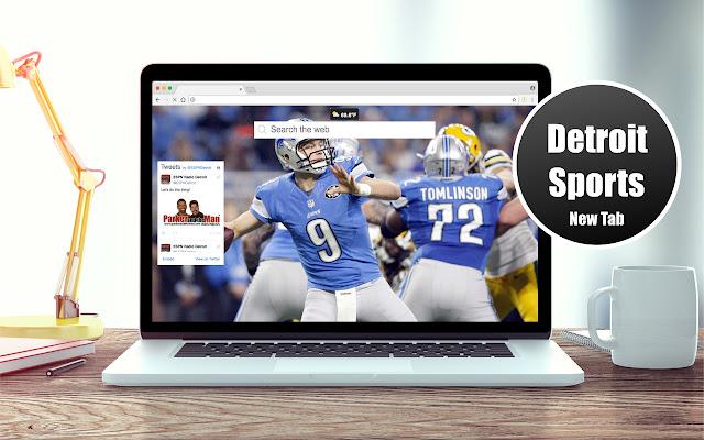 *NEW* HD Detroit Sports Wallpapers New Tab